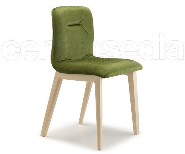 Natural Alice Pop Sedia Legno Scab Design