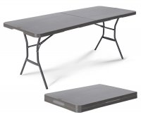 """Lifetime 80400"" Fold in Half Table 183X76cm"