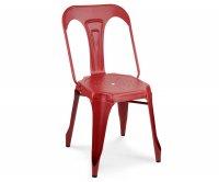 """Lucrezia"" Galvanized Metal Chair"